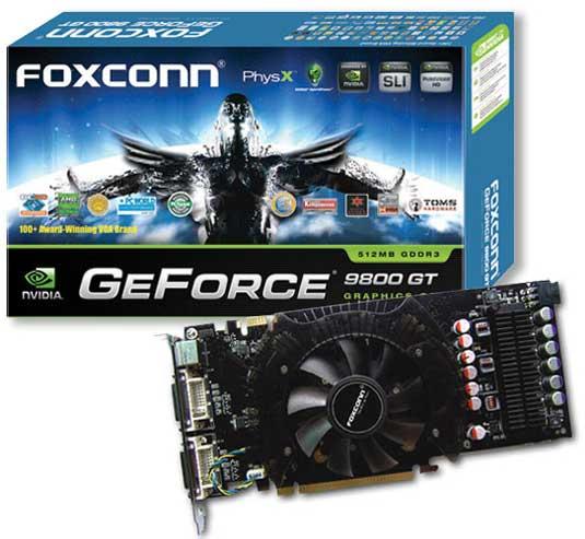 Foxconn GeForce 9800 GT