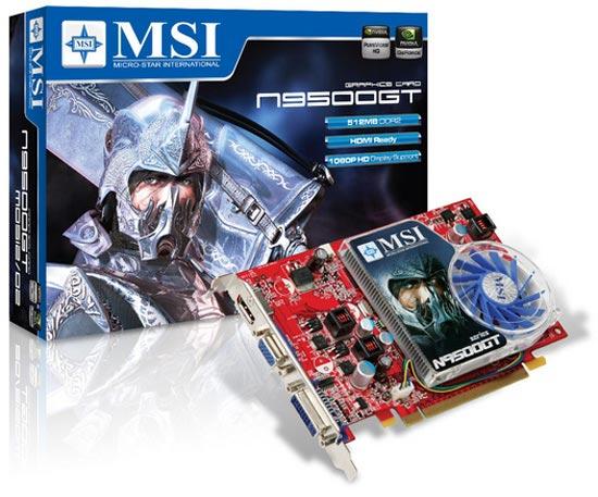 MSI N9500GT-MD512 D2