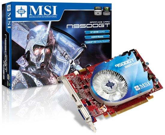 MSI N9500GT-MD512