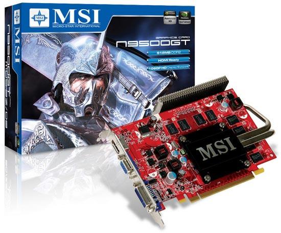 MSI N9500GT-MD512Z D2