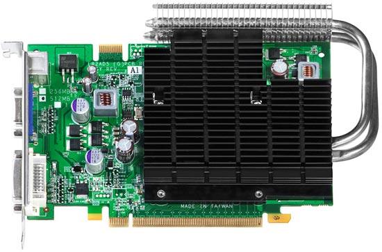 Leadtek WinFast PX9500 GT DDR2 Heatpipe Edition