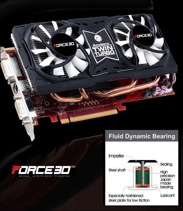 Force3D Radeon HD 4870 Black Edition with Accelero TWIN TURBO