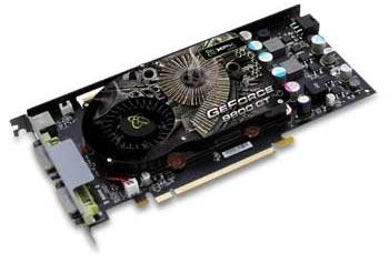 XFX GeForce 9800 GT 512MB GDDR3 Standard