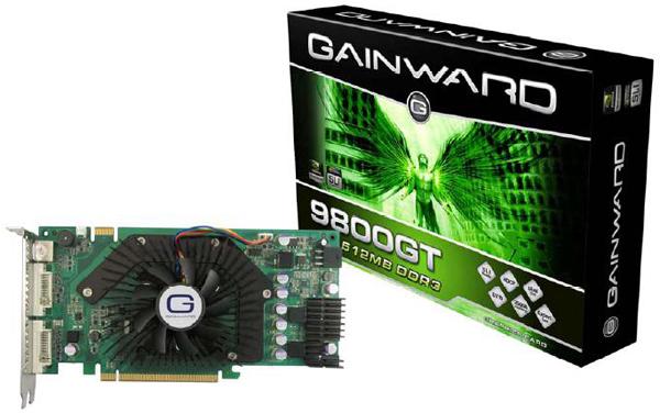 Gainward BLISS 9800GT 512MB