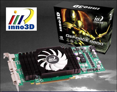 Inno3D GeForce 9800 GT