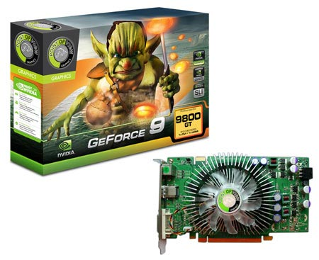 Point of View GeForce 9800 GT