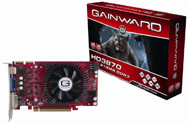 Gainward HD 3870 512MB