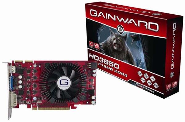 Gainward HD 3850 512MB