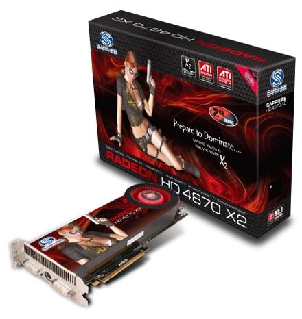Sapphire Radeon HD 4870 X2 2GB GDDR5