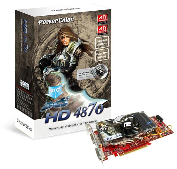 PowerColor HD 4870 PCS+ 512MB GDDR5