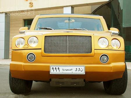 Мечта богача: Bentley скрестили с Hummer