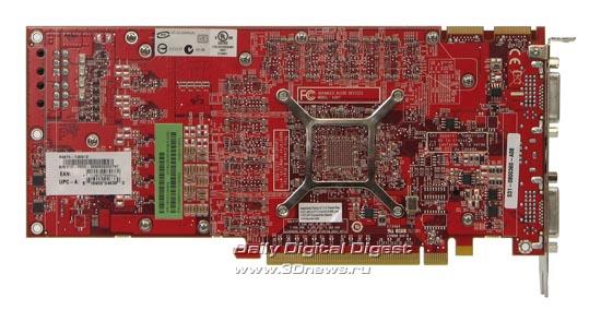 Вид сзади на MSI HD 4870