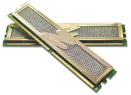OCZ DDR2 PC2-6400 P45 Special Gold 8GB Edition