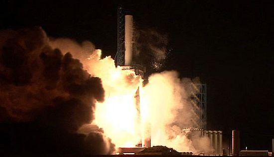 Старт ракеты-носителя Falcon 1