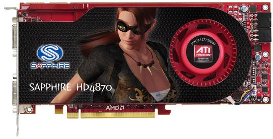 Sapphire Radeon HD 4870 1GB GDDR5