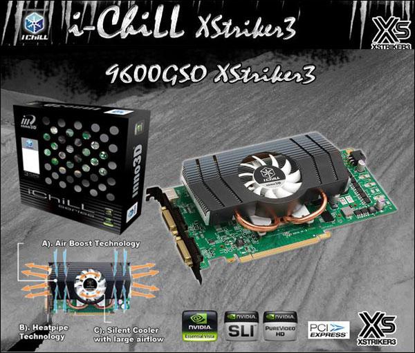 Inno3D i-Chill 9600GSO XStriker3