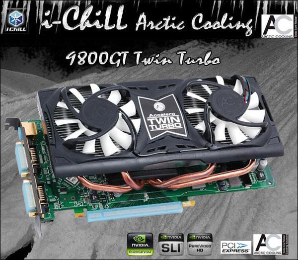 Inno3D i-Chill 9800GT Twin Turbo