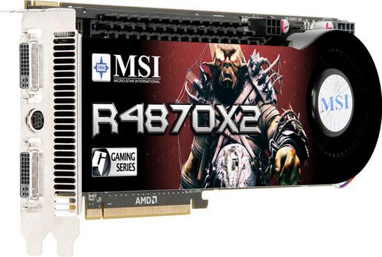 MSI R4870X2-T2D2G