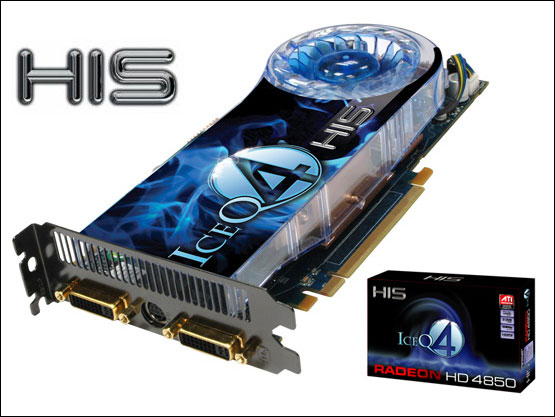 HIS HD 4850 IceQ 4 Turbo