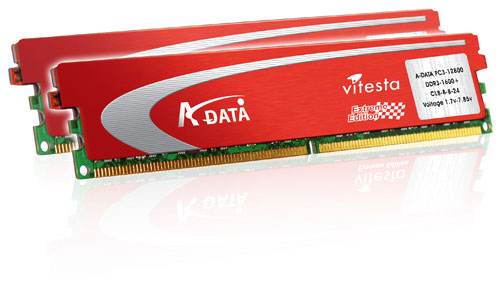 A-DATA Vitesta Plus DDR3-1600+ Memory Modules
