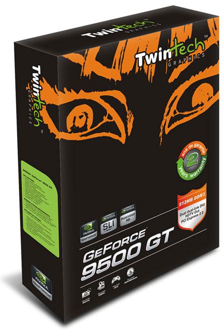 TwinTech NVIDIA GeForce 9500 GT 512MB GDDR3