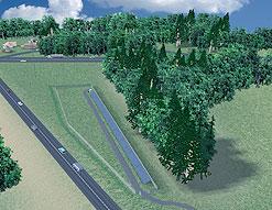 В США строят солнечное шоссе
