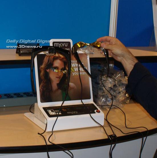 IDF SF 2008: видеоочки Myvu или смотрим кино на ходу
