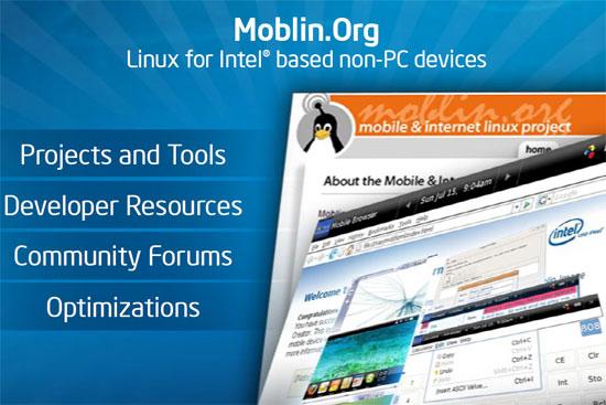 IDF SF 2008: Экосистема Moblin - курс на развитие и рост