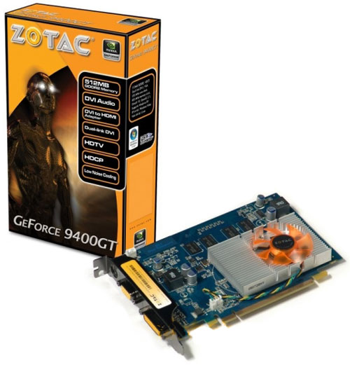 Zotac GeForce 9400 GT