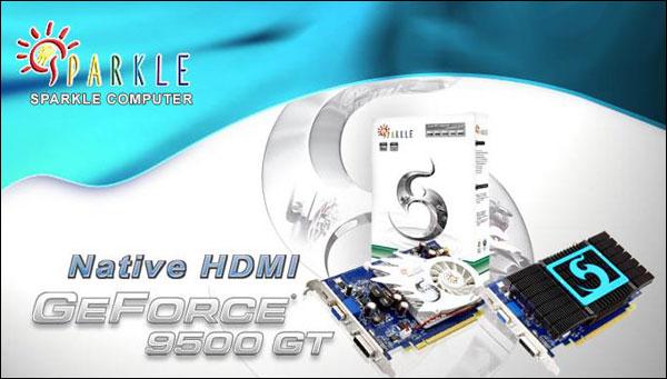 SPARKLE GeForce 9500 GT HDMI