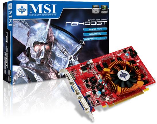 MSI N9400GT-MD256