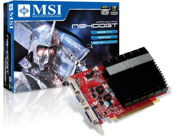 MSI N9400GT-MD256H