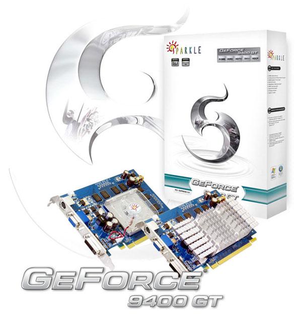 SPARKLE GeForce 9400 GT
