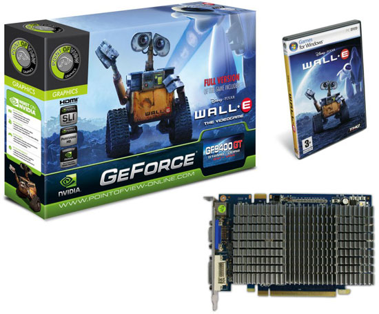 Point of View GeForce 9400 GT