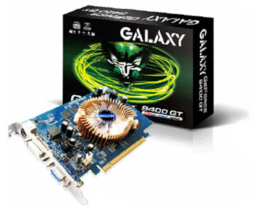 Galaxy GeForce 9400 GT DDR2