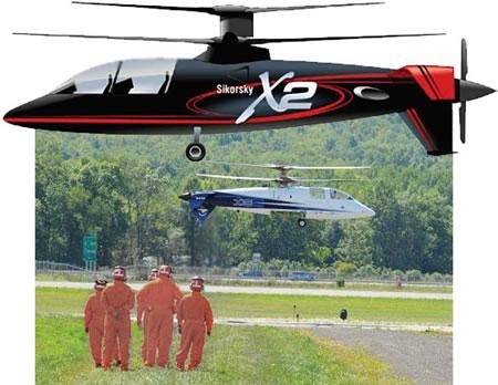 Самый быстрый в мире вертолет разгонят до 463 км/ч