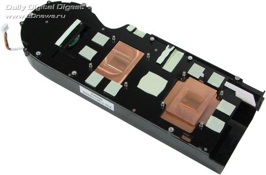 Sapphire Radeon HD 4870 X2 Система охлаждения 1