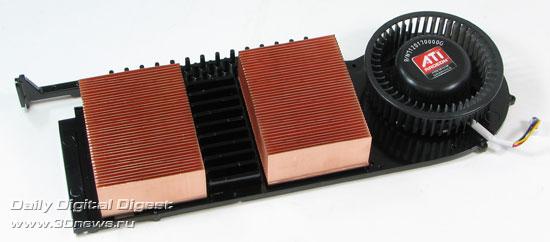 Sapphire Radeon HD 4870 X2 Система охлаждения 2