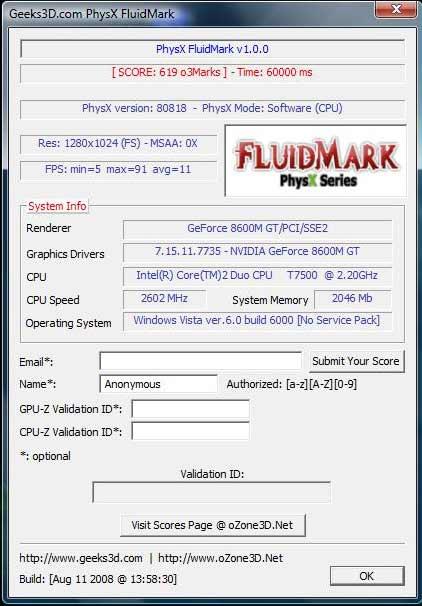 CPU - 2600 МГц