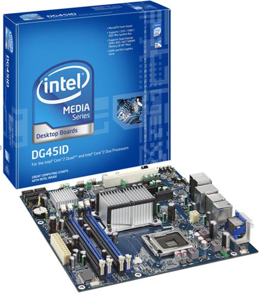 Intel Media Series Desktop Board DG45ID