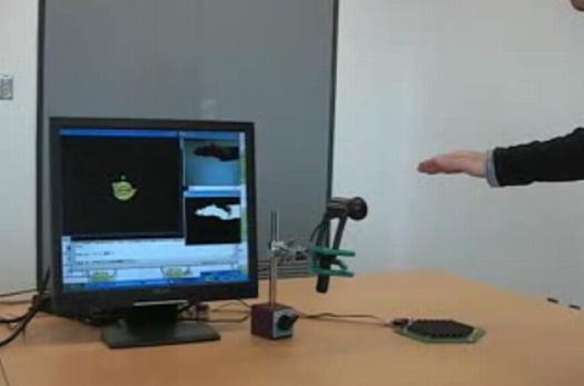 Виртуальные объекты теперь можно трогать с помощью ультразвука