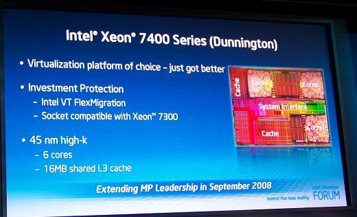 Intel Xeon 7400 «Dunnington»