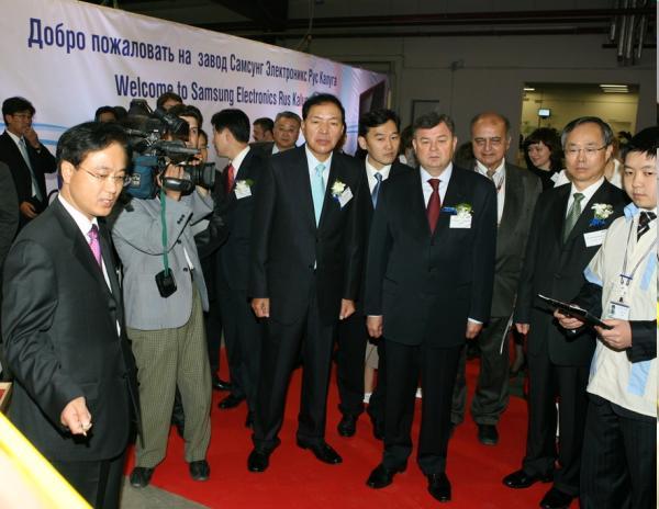 Samsung Electronics объявила об открытии завода в России