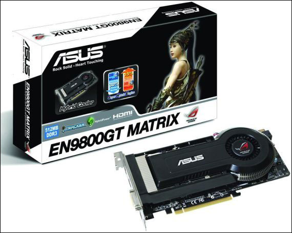 ASUS R.O.G. EN9800GT MATRIX/HTDI/512M
