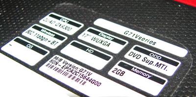 ASUS G71-2