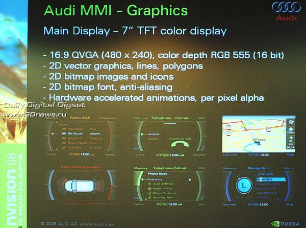 Нынешнее поколение Audi MMI