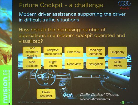 Задача: 4 поколение интерфейса Audi