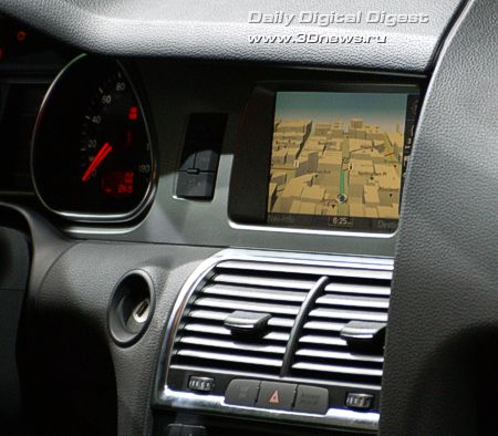 Внутри Audi Q7 4.2 Premium
