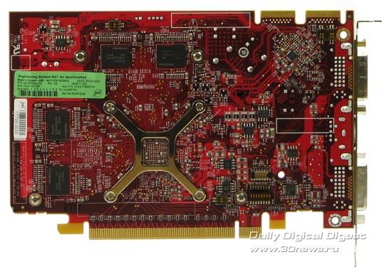 Radeon HD 4670 Вид сзади