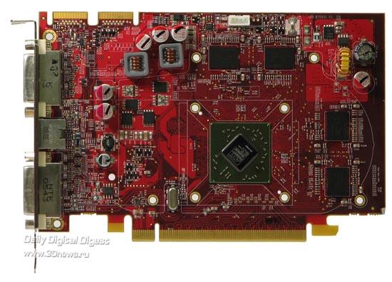 Radeon HD 4670 без системы охлаждения